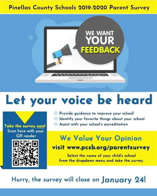 2019-2020 Parent Survey